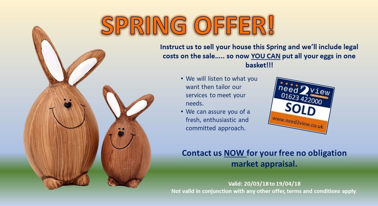 Spring Offer Slide