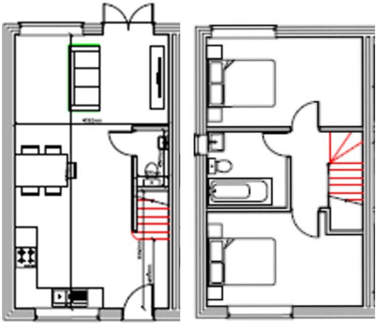 Floor Plan Town House