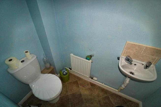 first floor toilet